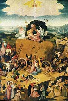 «Воз сена». 1500-1502 г