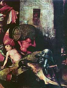 Фрагмент картины «Страшный суд». Вена. Музей изобразительных искусств