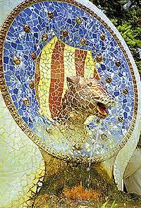 Мифический гад входит в состав эмблемы Каталонии