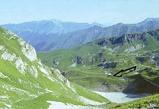 ледниковая долина Ортобалаган