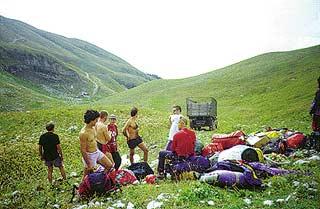 Интернациональная команда экспедиции